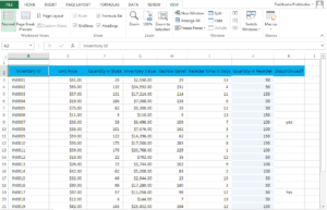 Freeze Rows In Excel Step 5.1