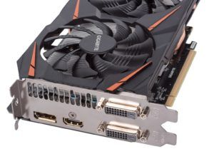 GIGABYTE GeForce GTX 1060 Size