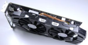 MSI GeForce 1060 Heat Pipes