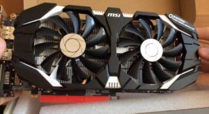 GeForce GTX 1060 3GT OC full view