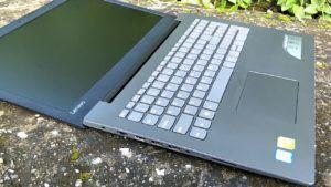 Lenovo Ideapad 320E layflat