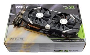 MSI GeForce GTX 1060 3GT OC Full View