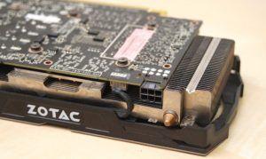 ZOTAC GTX 1060 Heatsink