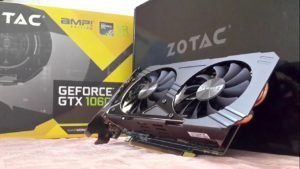 ZOTAC GTX 1060 3GB DDR5 AMP EDITION full view