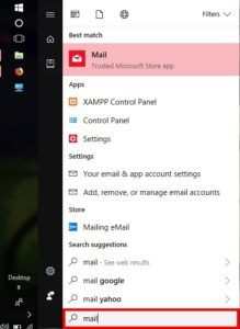 How To Configure Windows 10 Email Client STEP 1
