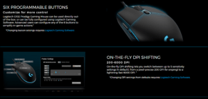 Logitech G102 Software