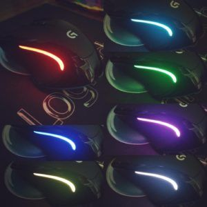 Logitech G300s Different LED