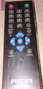 MMS-4545B Remote