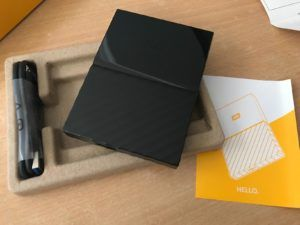 WD My Passport Unboxed