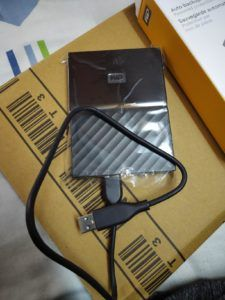 WD My Passport With Port