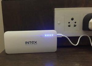 Intex Charging LEDs
