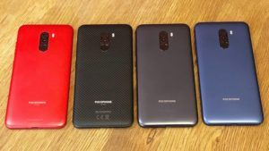 Pocophone F1 All Variants