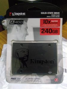 Kingston SSDNow A400 240GB Boxed