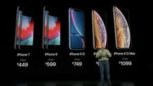 All New iPhone Lineup Prices