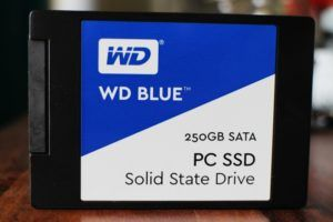 WD 250GB Blue SSD