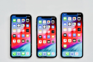iPhone XR, XS, XS Max Size Comparison