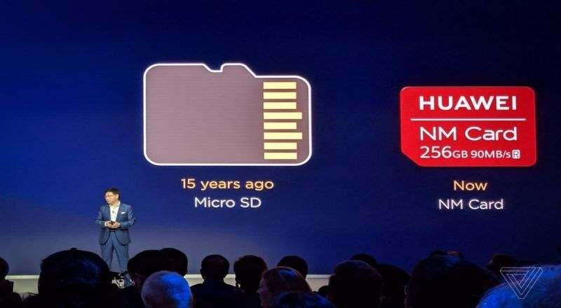 Huawei's next Nano-Memory(NM) Cards To Replace Traditional Micro SD Cards